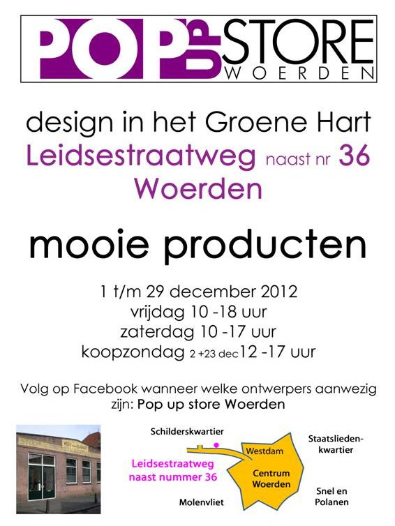 Pop up store Woerden